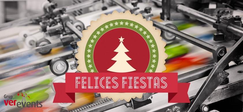 Feliz Navidad Verevents, tu imprenta online en valencia