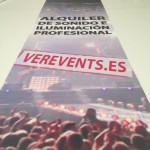 Alquiler de iluminación y sonido profesional para la organización de eventos
