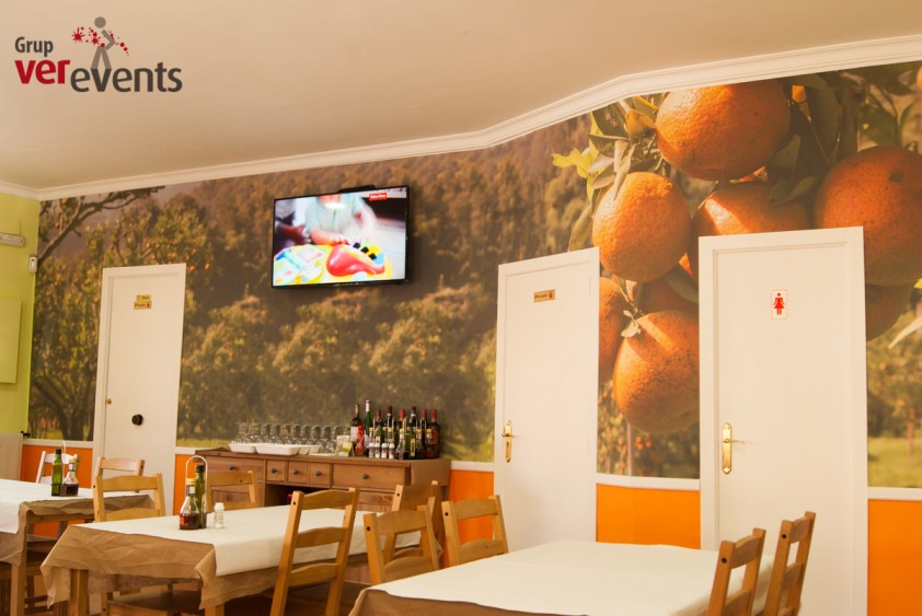 publicidad estática en restaurantes